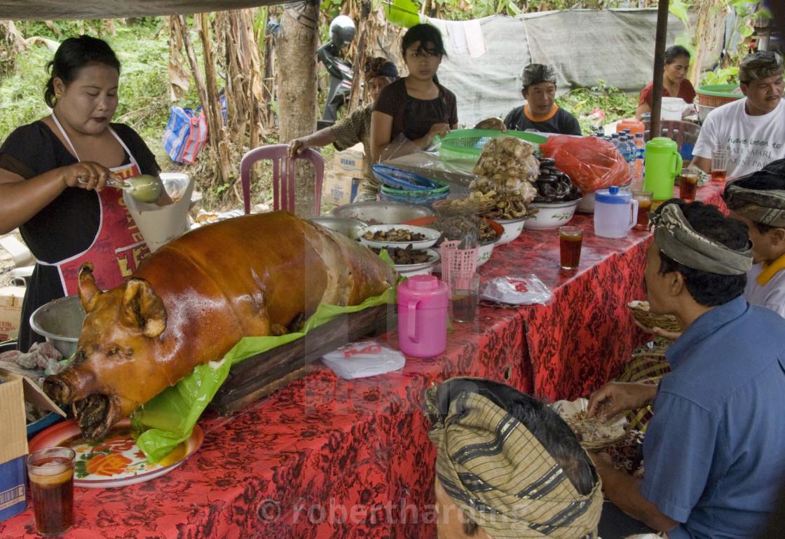 bahasa Inggris babi guling
